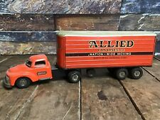 SSS Japanese Tin Friction RARE Allied Van Lines Inc. / Tin Litho Truck
