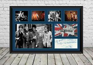 Sex Pistols Signed Photo Poster Autographed Rock Music Memorabilia