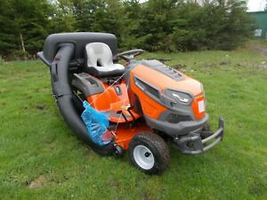 2020 HUSQVARNA TS 248XD RIDE ON MOWER WITH GRASS COLLECTION SYSTEM (NEW, UNUSED)