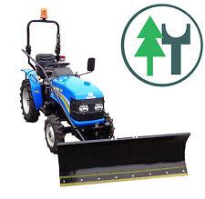 Traktor SOLIS 20 20PS Kleintraktor Allrad Schneeschild 1,40m Handaushebung