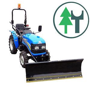 Traktor SOLIS 20 20PS Kleintraktor Allrad Schneeschild 1,40 m Handaushebung