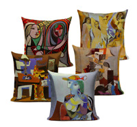 Deluxe PABLO PICASSO Painting Art Cushion Covers! Retro Abstract Vintage 45cm UK