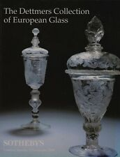 THE DETTMERS COLLECTION OF  EUROPEAN GLASS  AUCTION CATALOGUE SOTHEBY'S LONDON