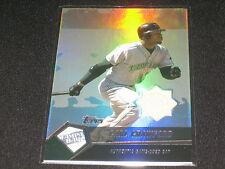 CARL CRAWFORD TAMPA RAYS STAR LEGEND CERTIFIED GAME USED AUTHENTIC BAT CARD RARE