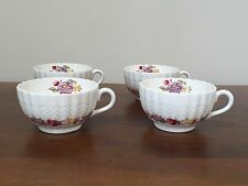 Spode ROSE BRIAR Footed Cup ~ Set of 4 ~ England