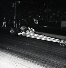 Jeb Allen 'Praying Mantis' Rear Engine Dragster - Vintage Drag Racing Negative