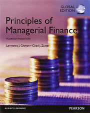 Principles of Managerial Finance 14E by Gitman, Zutter 14th (Global Edition)