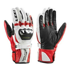 Leki World Cup Racing Titanium S Ski Gloves White 63380163 Size 7.5 Adult XS