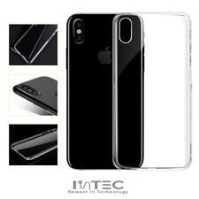 iPhone XR PREMIUM Clear Hard Plastic Protective Clip-on Back Case Cover