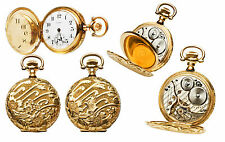 Illinois 1912 14K Gold 0s size Pocket Watch