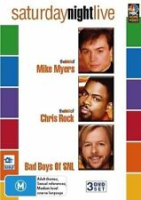 Saturday Night Live Mike Myers Chris Rock 3-Disc Set Region 4 DVD Sealed