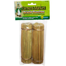 WARE FARMER MARKET BRISTLE BUNCHES CHEWS BRUSH TEETH SMALL ANIMALS.FREE SHIP USA