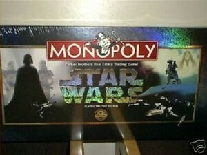 STAR WARS CLASSIC TRILOGY EDITION MONOPOLY