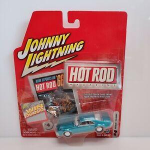 Rare Johnny Lightning Hot Rod Magazine 1966 Olds Toronado White Lightning Chase