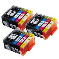 12x Patronen für HP 934 XL + HP 935 XL OfficeJet Pro 6230 6800 Series 6820 6830