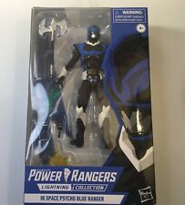 Power Rangers Lightning Collection Psycho Blue Ranger GameStop Exclusive