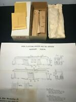 HO Scale B-910 Central Valley Arctic Oil Works Box Car Old Timers Craftsman KIT
