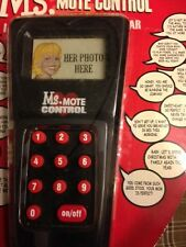 Ms.MOTE CONTROL Talking 16 Romantic Phrase Toy NEW