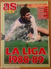 REVISTA AS COLOR Nº136 EXTRA FUTBOL LA LIGA 1988-89
