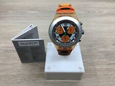 "OROLOGIO SWATCH IRONY ""CHRONO DIAPHANE"" SPEED PEAK  REF. SVCO4000   -NUOVO"