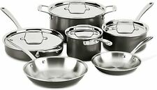 All-Clad Ltd Stainless Steel Hard Anodized 10-Piece Cookware Set > New <