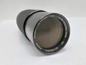 Vivitar 75-300mm F5.6 Close Focusing Zoom Lens for Olympus OM Mount SLR Cameras