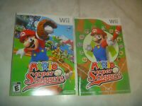 (Manual & Artwork Only) (NO GAME) Nintendo Wii Mario Super Sluggers