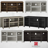 TV Stand Entertainment Center - Wood Media Console Cabinet Storage Modern Home