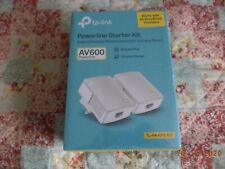 TP-link TL-PA4010KIT av600 powerline starter kit - new, sealed