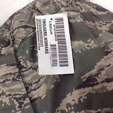 US Air Force DSCP Women's Military Camo Trousers Pants Sz 6 Regular Tiger Stripe