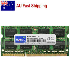 AU 4GB PC3-8500 DDR3 1066MHz 204Pin Unbuffered SODIMM Laptop Notebook Memory RAM