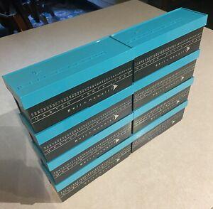 Lot of 8 Vintage Bell & Howell Master Forty Slide Case 1960's