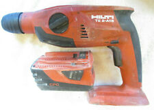 Hilti Te 2 A18 216v Li Ion 12 Cordless Rotary Hammer Drill With Battery