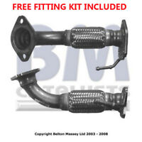 Fit with HONDA ACCORD Exhaust Fr Down Pipe 70491 2.2 (Fitting Kit Included)