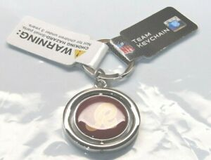 NFL Washington Redskins Spinning Logo Key Chain by Forever Collectibles