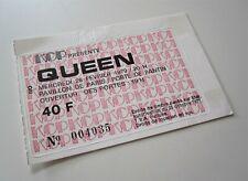 QUEEN : Paris France Concert Ticket Live Killers Tour French Stub 28.02.1979