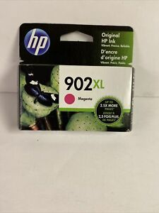 Genuine HP 902XL High Yield Magenta Ink OEM T6M06AN SEALED BOX Expires July 2022