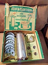 Cake Decorator and Cookie Maker Combination Zachman Co Vintage USA complete set