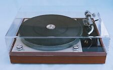 THORENS TD150 MK1 & MK11 CLEAR ACRYLIC LID & SUPPORT HINGE BY AUDIO CLASSIQUE