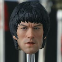 """BRUCE LEE 1/6 Scale Head Sculpt Decoration For 12"""" Male Figure Collector Gift"""