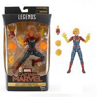 Marvel Legends Captain Marvel Binary Form Action Figure Avengers Toy