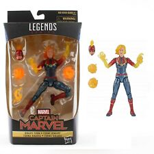Marvel Legends Captain Marvel Binary Form Action Figure Avengers Toy