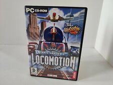 Chris Sawyer's Locomotion Transport Tycoon Style Game Windows PC CD-ROM