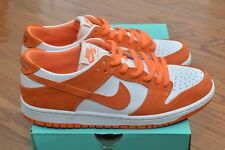 Nike SB Zoom Dunk Low Pro Conquer Cancer Mandarin-White Size 10.5 Rare