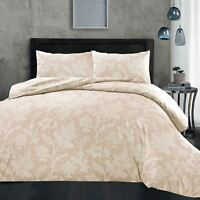 Floral Duvet Cover Bedding Set Single Double King Size Blush Fil-A-Fil Lace
