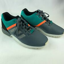 764eb68e688ed Adidas Sample One Of A Kind Torsion Grey Turquoise Gym Athletic Shoes Mens  Sz 9