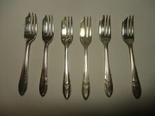 Silver Plated Sheffield England six Small Serving Forks
