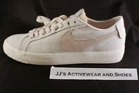 NIB NIKE SB ZOOM BLAZER LOW CANVAS DECON Skate Shoes AH3370 Light Bone 8 NoLid