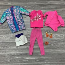 Barbie and the ROCKERS Doll Clothing Lot + Accessories Vintage 1980s