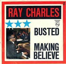 "7"" Ray Charles – Busted / Making Believe // Germany 1963"